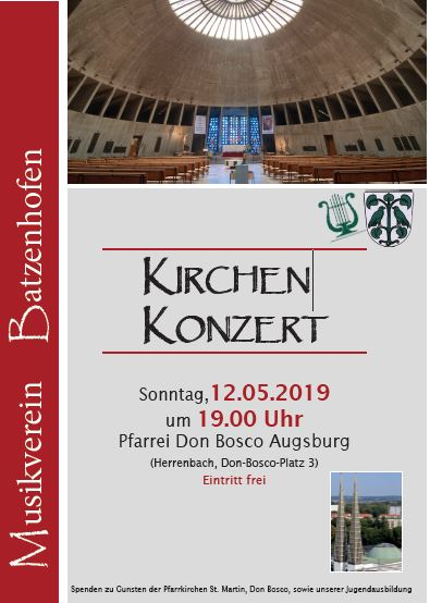 Kirchenkonzert 2019 in der Pfarrei Don Bosco